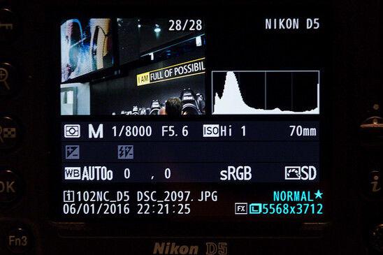 328万ISO能干啥?尼康D5屏幕高感样张直击